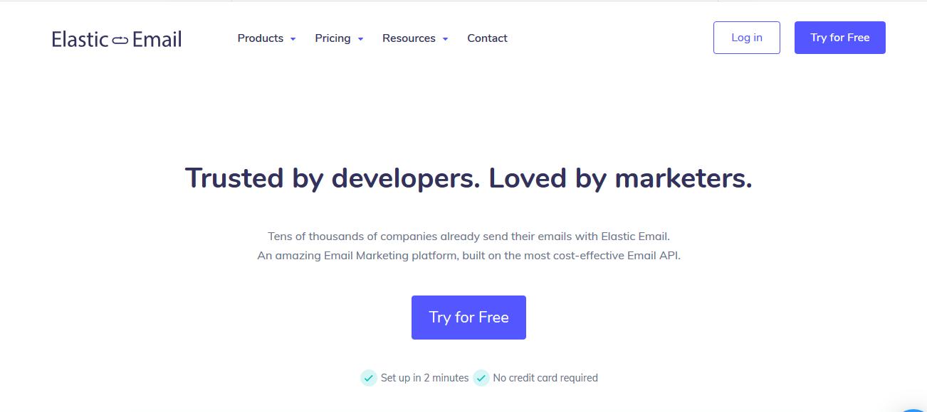 Elastic Email Promo