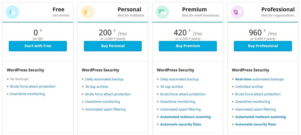 Jetpack Pricing
