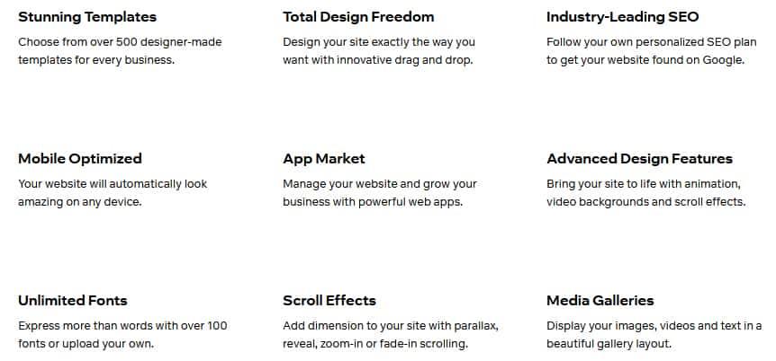 Wix ADI Features