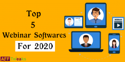 Top 5 Webinar Softwares 2020: Choose Free or Paid Ones